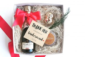 Thank you gift bridesmaid