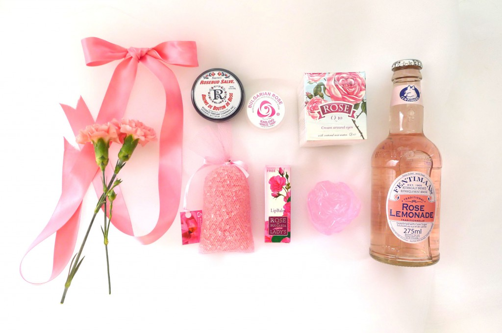 rose-themed gift items