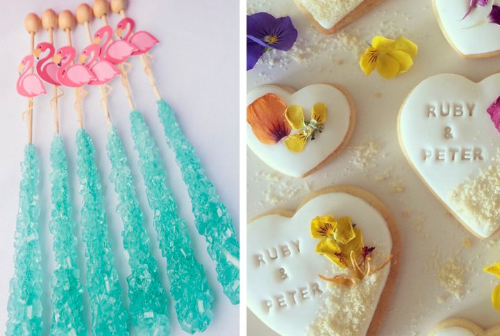 summer wedding sweet favors