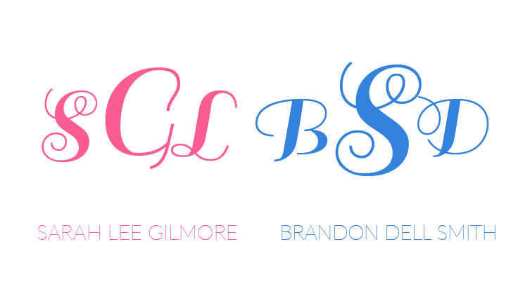 monogram rule for singles