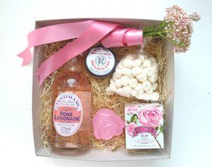 rose-themed gift