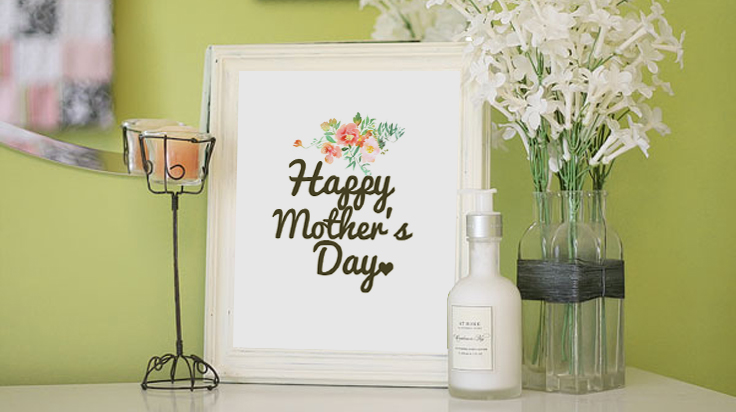 8 x 10 mothers day downloadable print