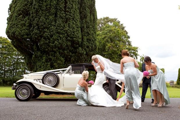 Bride and bridesmaids 1