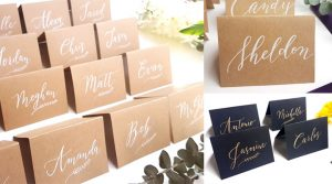 table escort cards