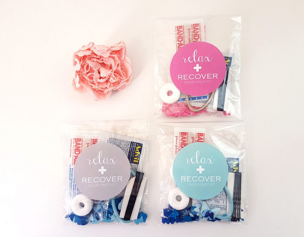 personalized emergency kit bridesmaids favors
