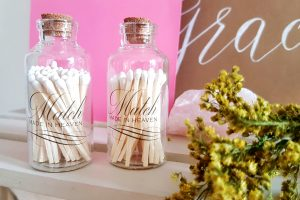 Perfect Match Wedding Matches in Jar
