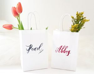 Personalized Bridesmaid Bags