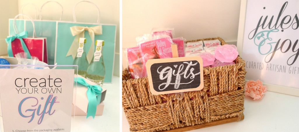 customize gift station