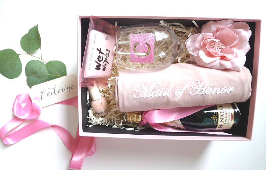 will you be my maid of honour gift