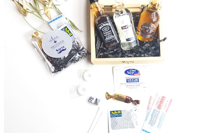 groomsmen hangover kit