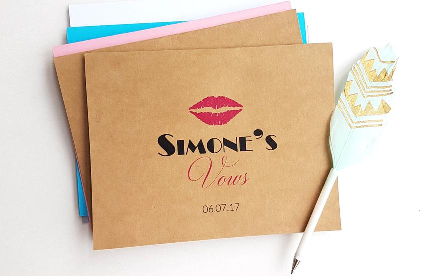 Wedding Vows Notebook