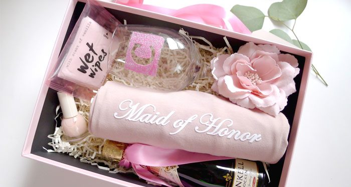 Maid of Honor Wedding Gift