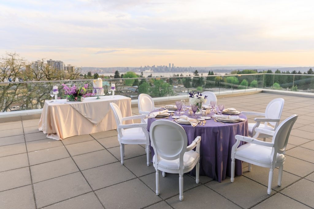 wedding venue with a view in Vancouver